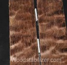Brown Quilted Maple