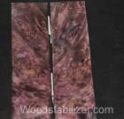 Plum Crazy Purple Maple Burl