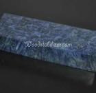 Blue Box Elder Burl #942