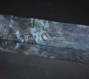 Blue Birch Burl Stabilized