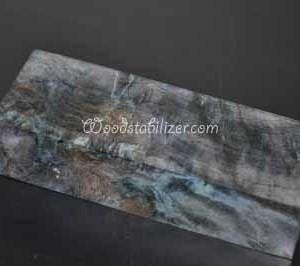 Blue/Green Stabilized Wood Stabilized