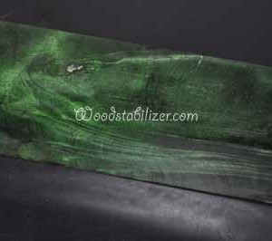 Green Buckeye Burl Stabilized