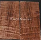 Brown Curly Maple