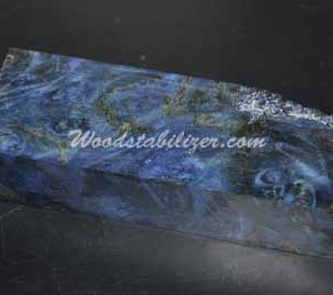 Stabilized Blue Maple Burl