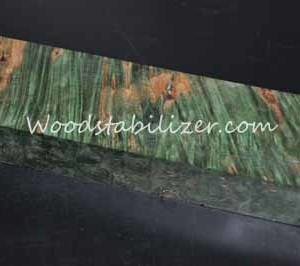Stabilized Green Maple Burl