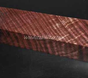 Stabilized Black Cherry Curly Maple