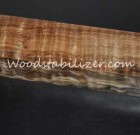 Stabilized Curly Maple